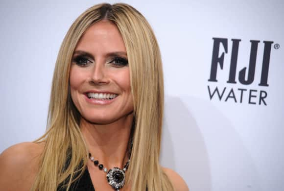Heidi Klum bei der amfAR Gala 2013 in New York