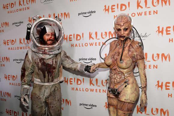 Tom Kaulitz und Heidi Klum an Halloween 2019