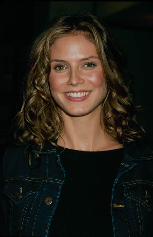 Heidi Klum  im Jahr 1990