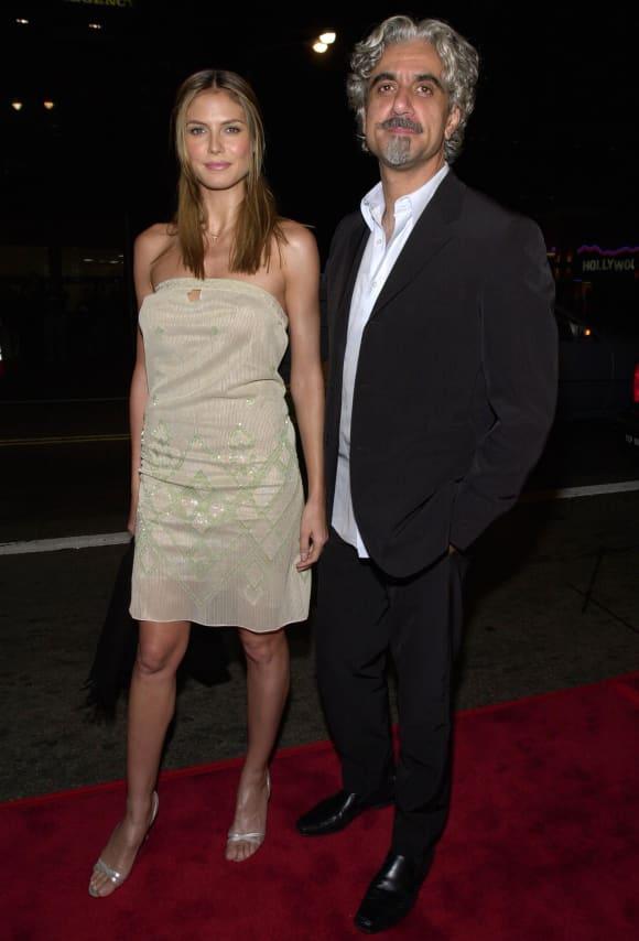 Heidi Klum und Ric Pipino 2000