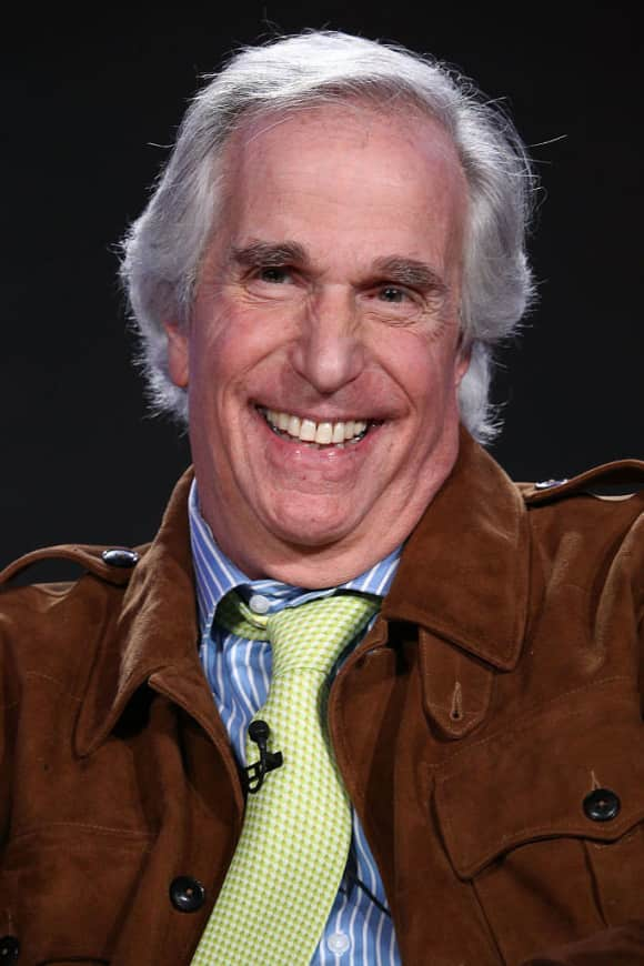"Henry Winkler alias ""Fonzy"" in ""Happy Days"""