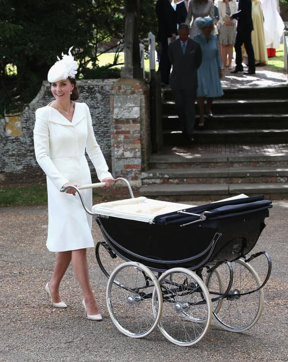 Herzogin Kate bei Prinzessin Charlottes Taufe