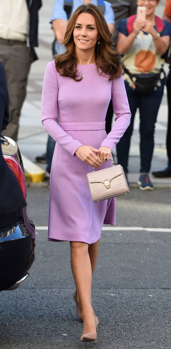 Herzogin Kate bei einem ihrer ersten Auftritt nach der dritten Babypause