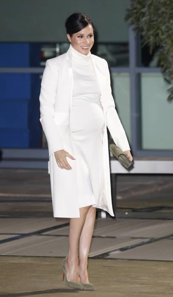 Herzogin Meghan hochschwanger bei einer Gala im Februar 2019