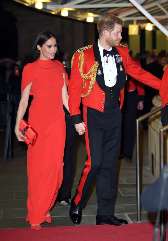 Herzogin Meghan und Prinz Harry beim Mountbatten Music Festival in der Royal Albert Hall 2020