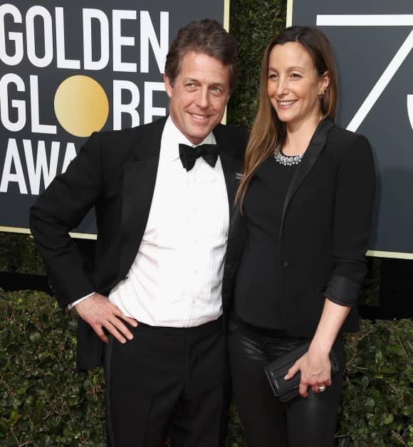 Hugh Grant und Anna Eberstein werden wieder Eltern