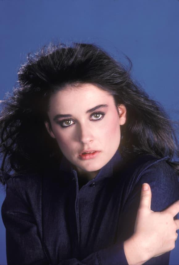 "Demi Moore spielte ""Jackie Templeton"" in der Seife ""General Hospital""."