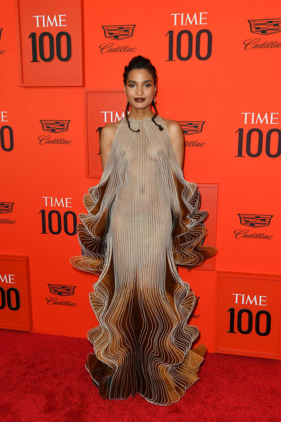 Indya Moore at the TIME 100 Gala 2019