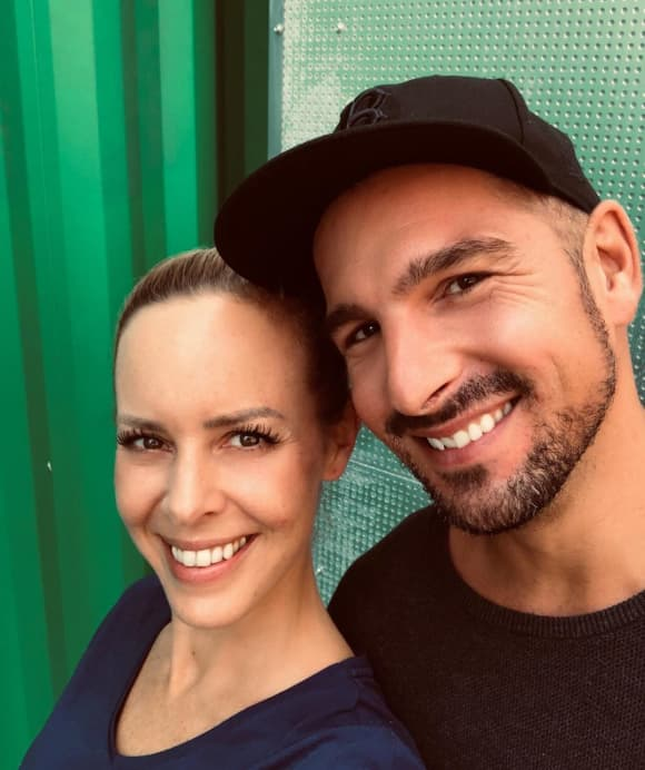 Isabel Edvardsson und Benjamin Piwko
