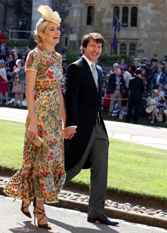 James Blunt und seine Frau Sofia bei der Hochzeit von Harry und Meghan