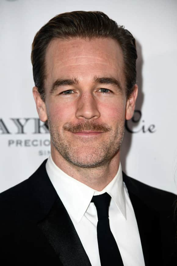 """Dawson's Creek"" star James van der Beek"