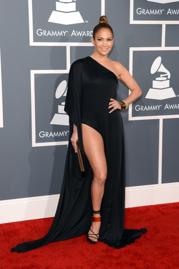 Jennifer Lopez at the Grammy Awards 2013