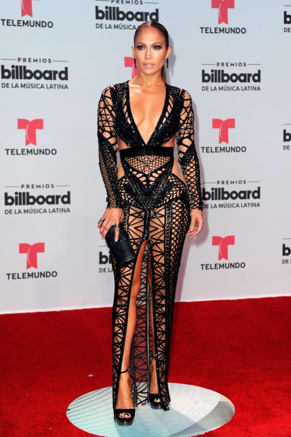 Jennifer Lopez at the Billboard Latin Music Awards in 2017