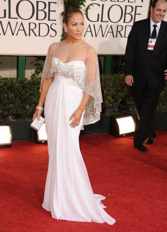 Jennifer Lopez at the Golden Globe Awards 2011