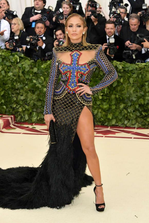 J-Lo at the Met Gala 2018