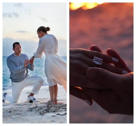 Alex Rodriguez and Jennifer Lopez got engaged March 2019