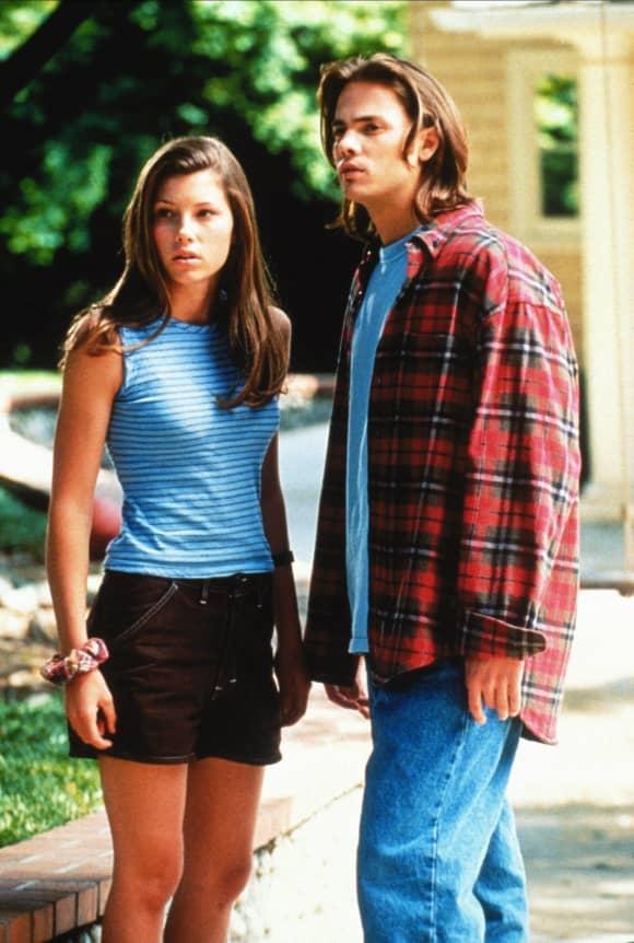"""Jessica Biel und Barry Watson in der Serie """"Eine himmlische Familie"""""""