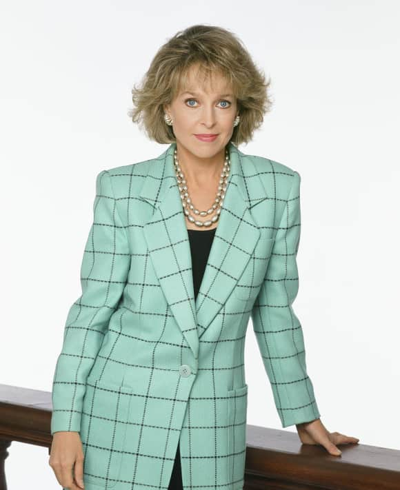 "Jill Eikenberry starred in the role of ""Ann Kelsey"" in L.A. Law"