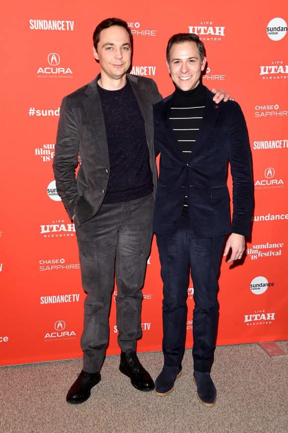 Jim Parsons und Partner Todd Spiewak beim Sundance Film Festival 2018