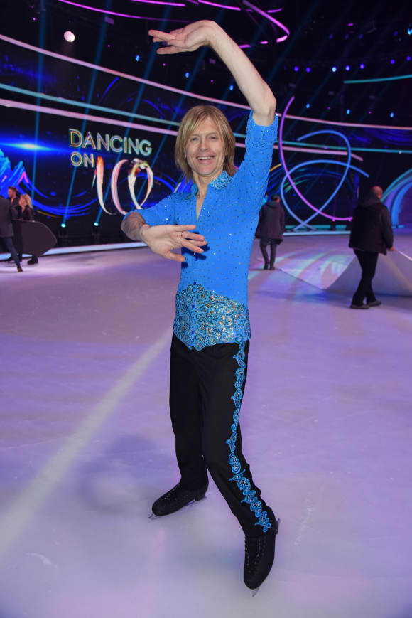 John Kelly Dancing on Ice Finale