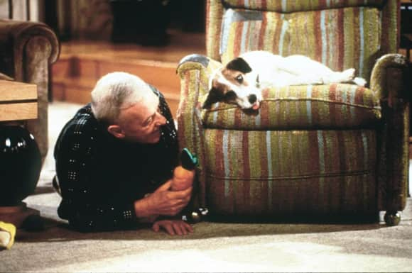 "The late John Mahoney played  the role of ""Martin Crane"" on Frasier."