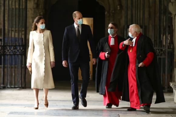 Kate Middleton Westminster Abbey