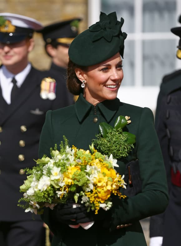 Duchess Catherine at St. Patrick's Day Festivities 2019