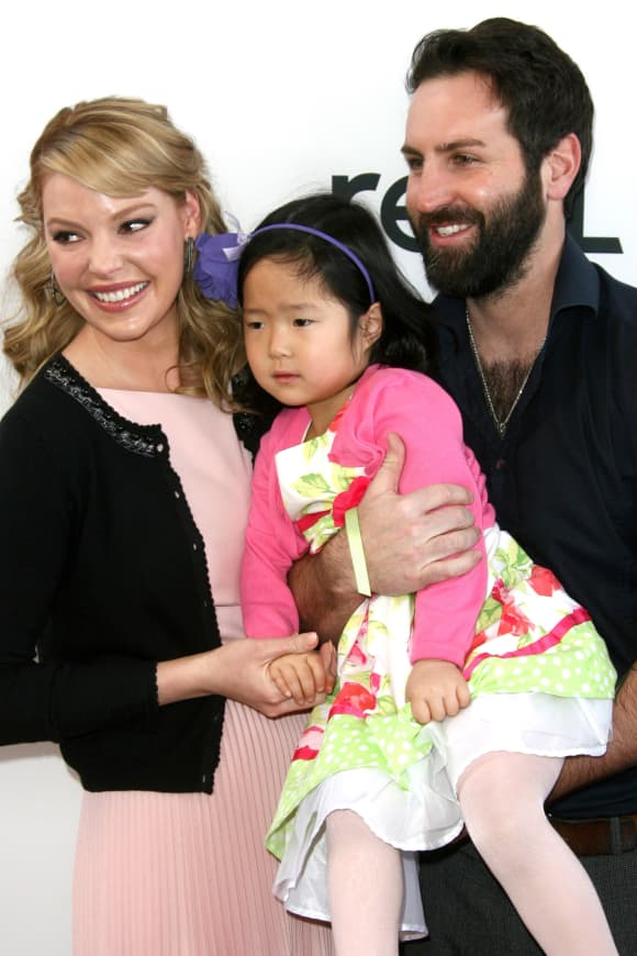 Katherine Heigl and Josh Kelley with daughter Nancy Leigh Kelley