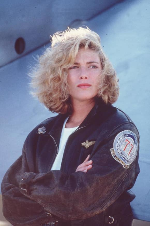 "Kelly McGillis starred as ""Charlotte 'Charlie' Blackwood"" in Top Gun"
