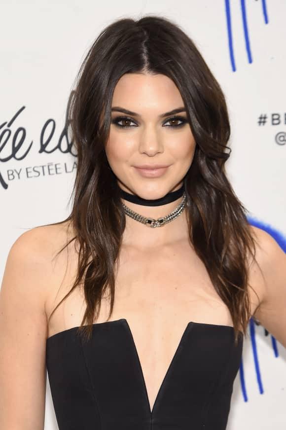 Kendall Jenner bei einem Event von Estee Lauder in New York 2016