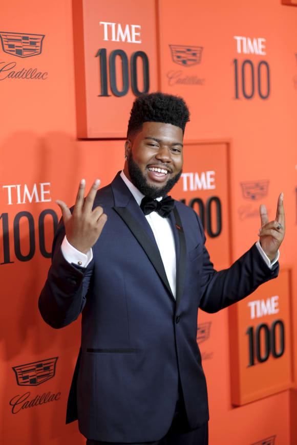 Khalid at the TIME 100 Gala 2019