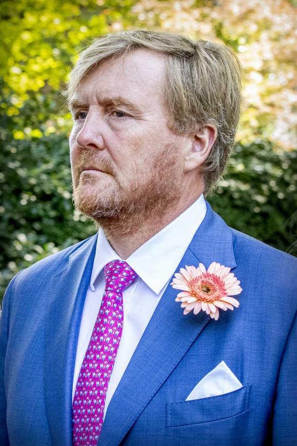 König Willem-Alexander im August 2019 bei der Beerdigung von Prinzessin Christina