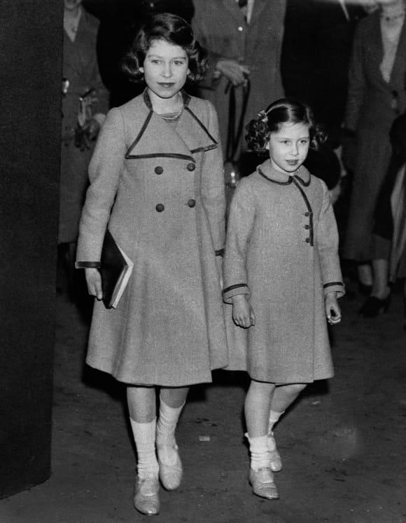 Königin Elisabeth II. und Prinzessin Margaret