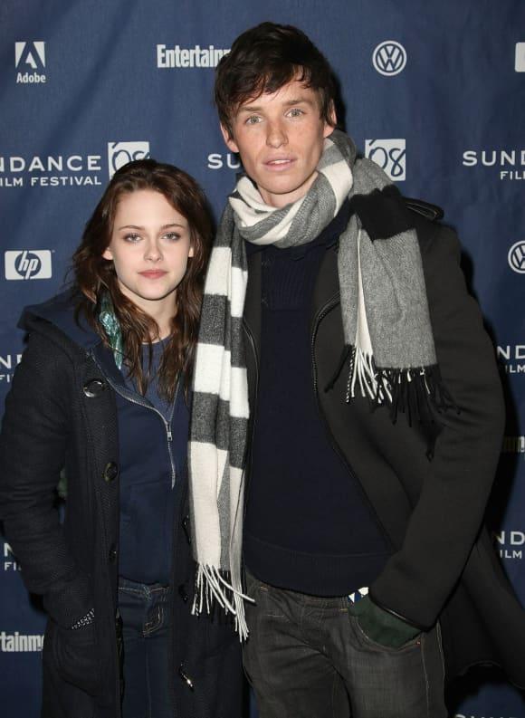 """Kristen Stewart und Eddie Redmayne bei der Premiere von """"Das gelbe Segel"""" 2008"""