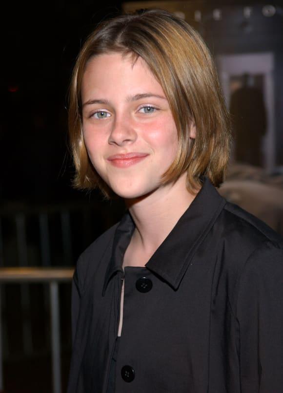 """Kristen Stewart bei der Premiere von """"Panic Room"""" 2002"""