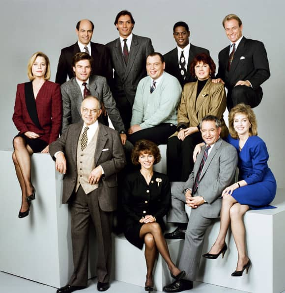 "The ""L.A. Law"" cast"