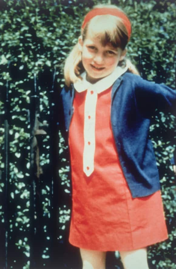 Young Lady Diana in 1969