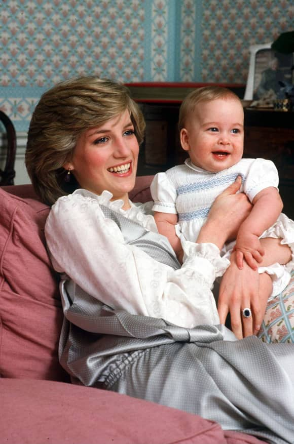 Lady Diana and William, Duke of Cambridge