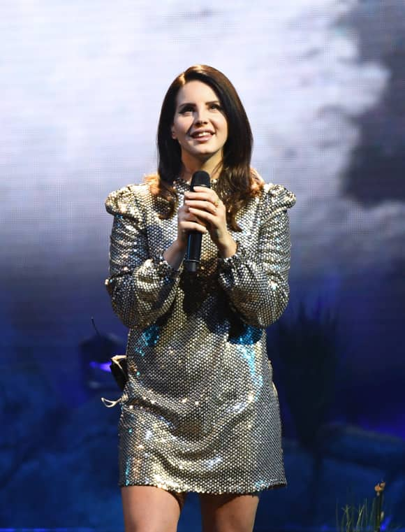 Singer Lana Del Rey