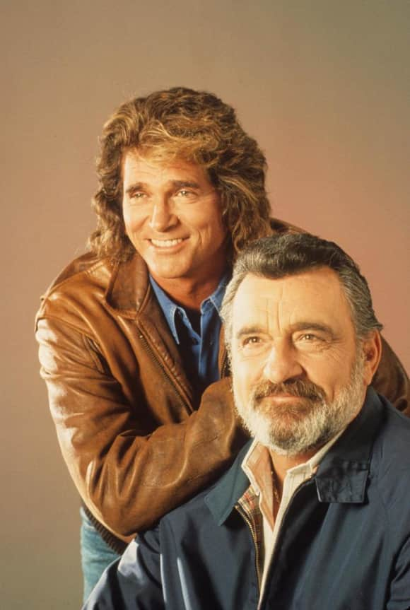 Michael Landon and Victor French starred together in Highway to Heaven