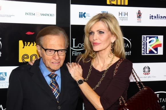 Larry King und Shawn Southwick King