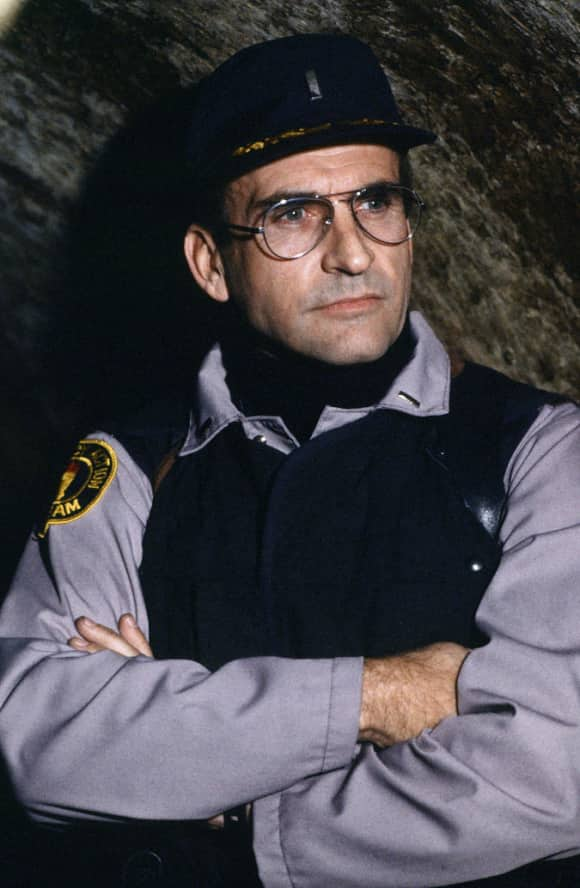 "James Sikking played ""Lt. Howard Hunter"" on the popular show Hill Street Blues."