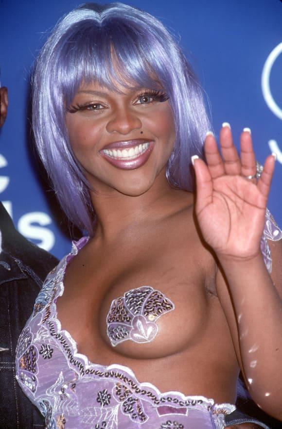 Lil' Kim before plastic surgery