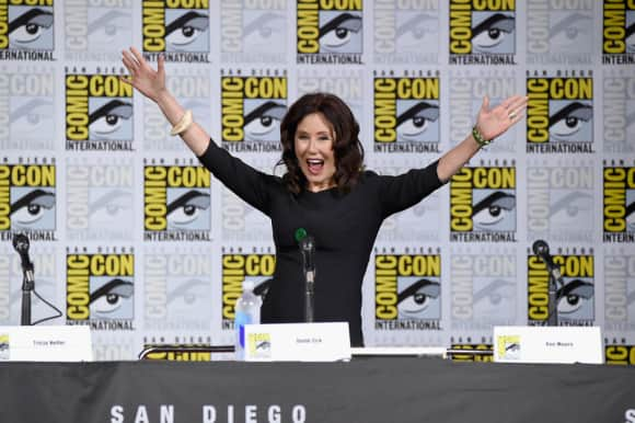 Battlestar Galactica star Mary McDonnell also appeared on As The World Turns Comic Con