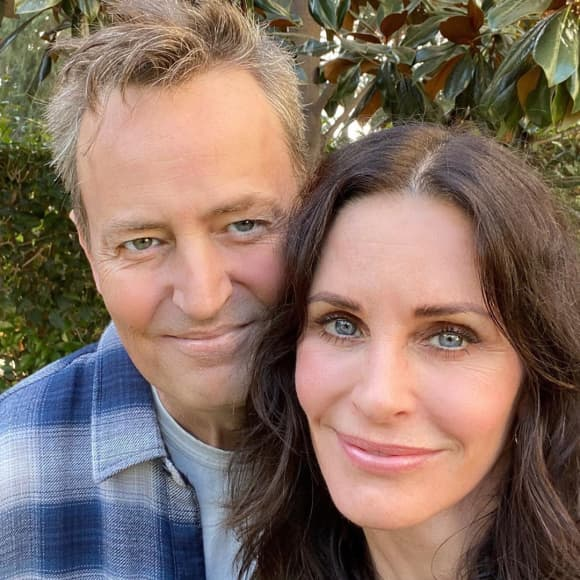Matthew Perry und Courteney Cox