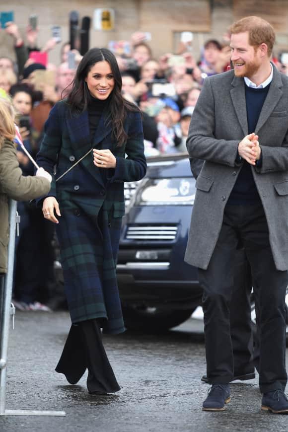 Meghan Markle, Prinz Harry, Edinburgh