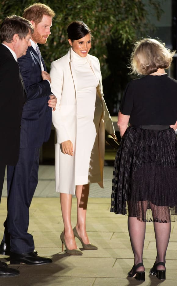 Prince Harry and Duchess Meghan at the Natural History Museum