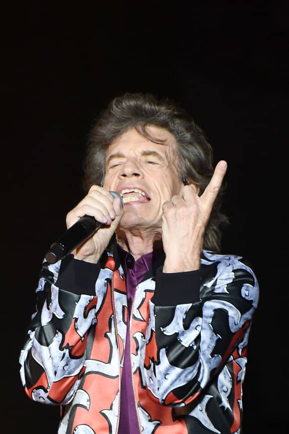 """Mick Jagger of """"The Rolling Stones"""""""