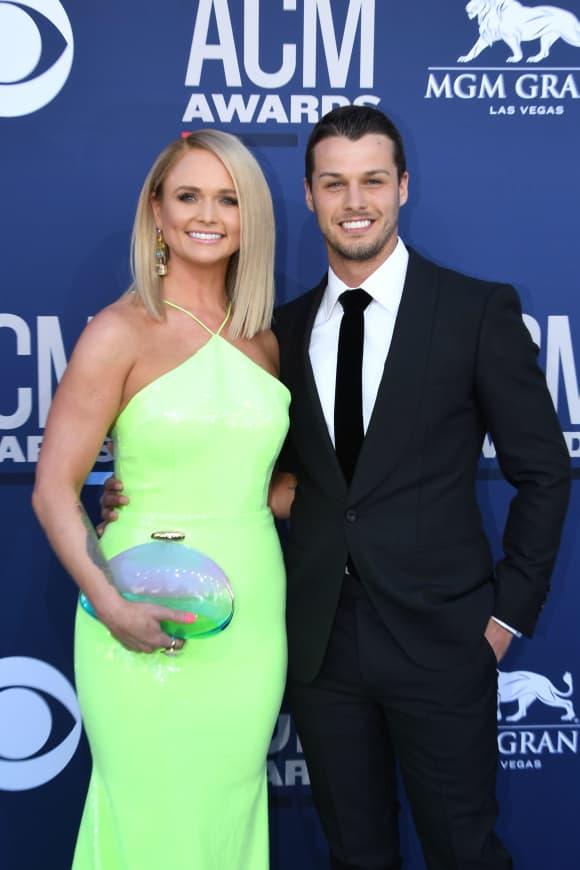 Miranda Lambert and Brendan McLoughlin at the 54th Academy of Country Music Awards