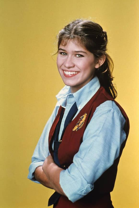 "Nancy McKeon starred as ""Jo Polniaczek"" on The Facts of Life"